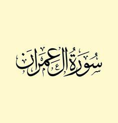 سورة آل عمران / قراءة : وديع اليمني