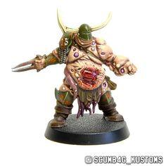 #paintingwarhammer #bloodbowl #nurgle #bloater #warhammer #blightkings #conversion
