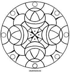 ESPAÇO EDUCAR: 30 desenhos de mandala para colorir - moldes