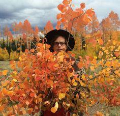 Two of my favorite things: Matthew Gray Gubler & Autumn