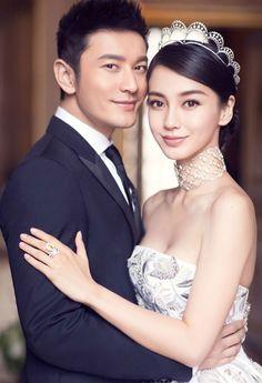 Wedding Huang Xiaoming and Angelababy