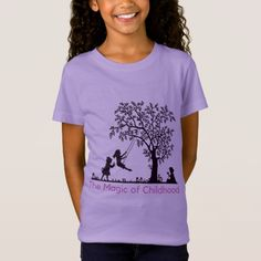 Shop The Magic of Childhood T-Shirt created by The_Blessing_Store. Stylish Shirts, Little Fashionista, Outdoor Play, Suits You, Laptops, Nice Dresses, Fitness Models, Childhood, Short Sleeves