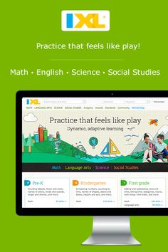 Online practice kids and students will love! K-12 math, English, science and social studies.