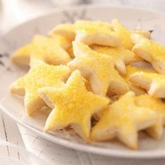 Lemon Stars Recipe from Taste of Home -- shared by Jacqueline Hill of Sandusky, Ohio