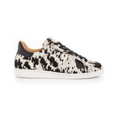 d0a9874e9e3f Copeland  Cow Print Leather Trainers from Air   Grace