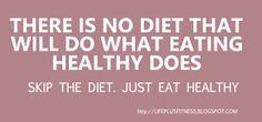 No Diet! Healthy Recipes.