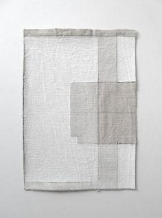 6765909df373 I can see using drop cloths and scraps to make gorgeous wall art like this.