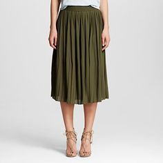 Women's Pleated Skirt - Who What Wear ™