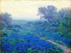 Robert Julian Onderdonk - Bluebonnets at Sunrise, 1917