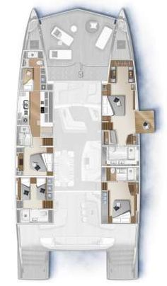 Sailboat Yacht, Sailing Catamaran, Yacht Boat, Sailing Boat, Yacht Design, Boat Design, Sailboat Interior, Yacht Interior, Interior Do Barco