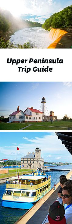 Hike to a waterfall, climb to the top of a lighthouse and see a shipwreck in the land north of the Mackinac Bridge: Michigan's UP. Trip guide; http://www.midwestliving.com/travel/michigan/upper-peninsula/upper-peninsula-trip-guide/