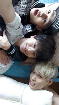 Ilhoon, Sungjae and Hyunsik #BtoB #Twitter #update
