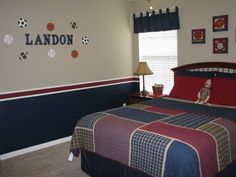 Boys Rooms Sports Decorating Ideas Boy Room Designs