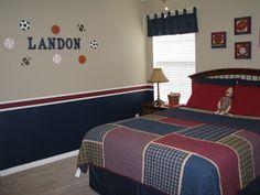 Boys Rooms Sports Decorating Ideas Big Boy Sports Room Boys Room Designs