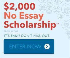 High school essay scholarship contests