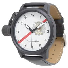 The Thin Red Line Firefighter Watch