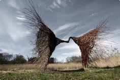 magic work sculpture by Karin van der Molen