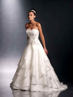 Cap Sleeves Lace Over Bodice A Line Wedding Dresses With Illusion