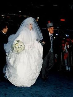Mariage de Céline Dion  René Angélil (Québec) Samedi 17 décembre 1994.
