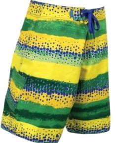 c8014d69ea New AFTCO by Guy Harvey Fishing Board Shorts Color - Dorado Yellow Green Sz  30 #