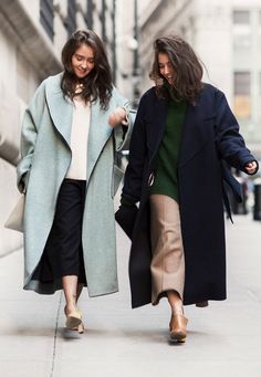 Maxi coats / Tanya and Zhenya Posternak