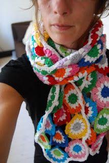 HandMaid Liset: Scarf 'Show your Colours'