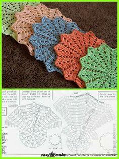 Hobby: Damskie pasje i hobby. Odkryj i pokaż innym Twoje hobby. Magic Crochet Nº 90 - claudia - Picasa Web Albums This Pin was discovered by Nat How to conn Crochet Coaster Pattern, Crochet Doily Patterns, Crochet Diagram, Crochet Designs, Crochet Doilies, Crochet Flowers, Crochet Stars, Crochet Round, Crochet Home