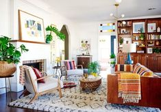 Apartment Living Room Ideas With Bohemian Decor 19 Decor, Moroccan Living Room, Room Design, Gravity Home, Moroccan Decor, New Orleans Homes, Retro Living Rooms, Living Room Decor, Home Decor