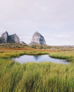 The peaks on Sørsanna Island seen from Træna Norway #stayandwander by alexstrohl