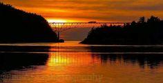 Deception Pass Bridge-Oak Harbour, Wa