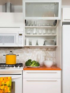 Image result for small space kitchen design
