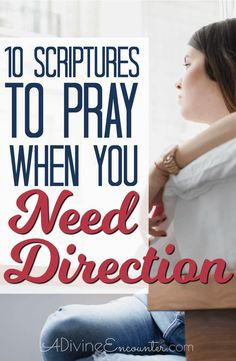 10 Scriptures to Pray When You Need Direction From God Healing Scriptures, Prayer Scriptures, Prayer Quotes, Scripture Verses, Bible Verses Quotes, Faith Quotes, Bible Prayers, Prayers For Strength, Prayers For Healing