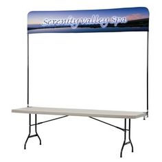 Tabletop Banner System - 8' Main Image