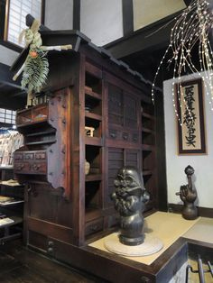 Kanjiro Kawai's house. Built in and now a museum in Kyoto, Japan. Kanjiro Kawai is a renowned Japanese potter. Japanese Furniture, Japanese Interior, Asian Design, Japanese Design, Japanese Style House, Japanese Architecture, House Built, Japanese Culture, Interior Styling
