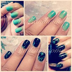 loooooove the gradient.... but OPI Spotted is so cool!!! look at that sh*t!