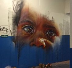 Amazing Street Art. .  Adnate