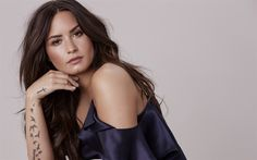Descargar fondos de pantalla Demi Lovato, 4k, estrellas de cine, morena, actriz estadounidense, belleza