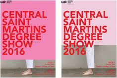 Central Saint Martins summer shows degree shows London Art College, Central Saint Martins, New Work, Identity, Campaign, Design Inspiration, Creative, Summer, Google