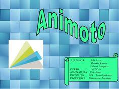 Tutorial animoto by aportics via slideshare