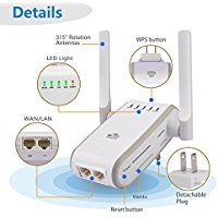 Home Networking & Connectivity Special Section Wifi Signal Extender Booster Amplifier Repeater Router Access Point Mode 300mbps Highly Polished Computers/tablets & Networking