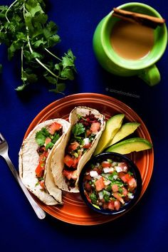 Soyrizo Tacos with Fresh Pico de Gallo Salsa - Mexican Made Meatless™ Best Breakfast Recipes, Lunch Recipes, Vegan Recipes, Dinner Recipes, Meatless Recipes, Vegan Meals, Breakfast Ideas, Vegetarian Mexican Recipes, Brunch
