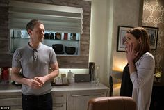 Carla Connor and nick | Violent temper: Nick Tilsley flies into a rage, injuring girlfriend ...