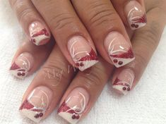 Valentines by megz83 - Nail Art Gallery nailartgallery.nailsmag.com by Nails Magazine www.nailsmag.com #nailart
