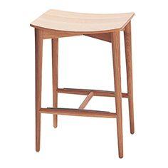 S-051 Stool wooden seat