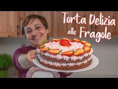TORTA DELIZIA ALLE FRAGOLE Ricetta Facile - Fatto in Casa da Benedetta - YouTube