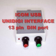 ICOM-Digi-Interface-with-PTT-PSK-PSK31-FT8-SSTV-IC-703-706-7000-9100