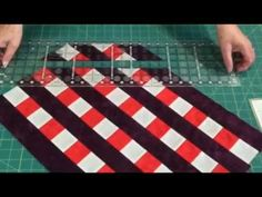 How to make Half Square Triangles - fast, easy and accurately! - YouTube  This is such an interesting technique!