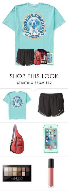 """""""going to a trampoline park❤️"""" by shenry2016 ❤ liked on Polyvore featuring NIKE, Kavu, LifeProof, Maybelline and Bare Escentuals"""