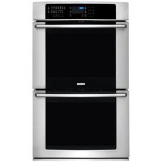 Electrolux IQ-Touch 30 in. Double Electric Wall Oven Self-Cleaning with Convection in Stainless Steel (Silver)