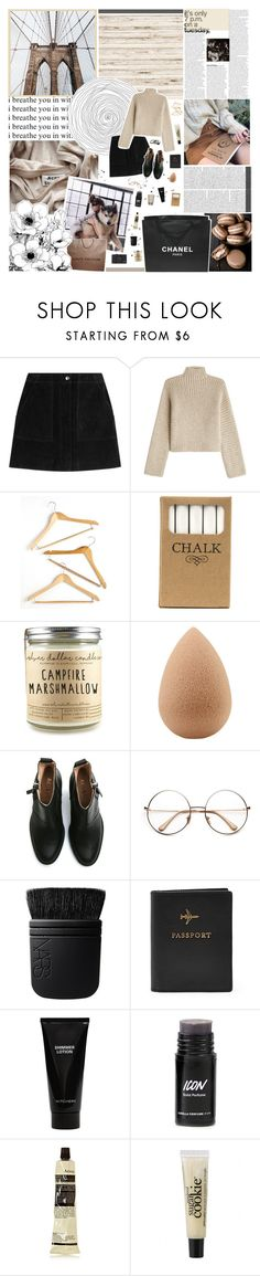 """""""the battle of the color schemes - round one"""" by ecclxsiastes ❤ liked on Polyvore featuring GET LOST, Louis Vuitton, rag & bone, Rosetta Getty, Chanel, Honey-Can-Do, Jayson Home, beautyblender, Acne Studios and NARS Cosmetics"""